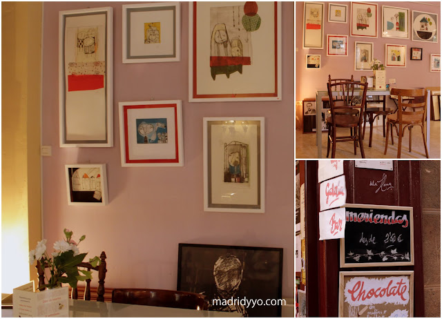 Cafe Atelier la Llana Madrid Latina Lavapies
