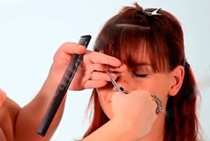 Day cat toc nu co ban huong dan cat toc mai 11 Dạy cắt tóc nữ cơ bản, Hướng dẫn cắt tóc mái