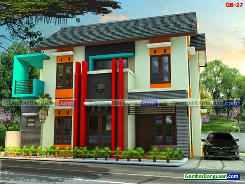 Desain rumah minimalis 2 lantai di maluku