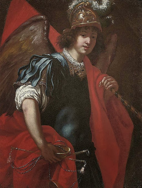 Jacopo Vignali - The Archangel Michael