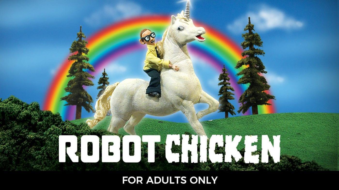 Robot Chicken is on Showmax