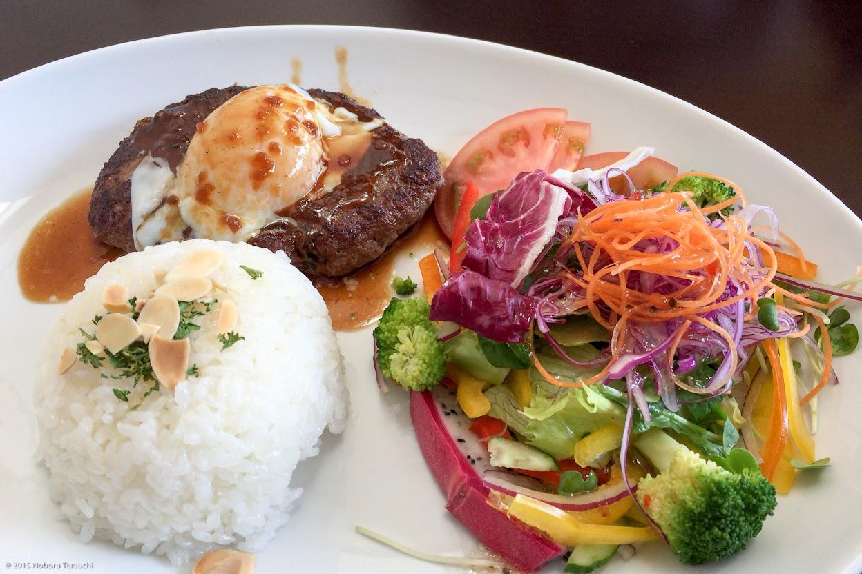 エゾ鹿肉ハンバーグプレート
