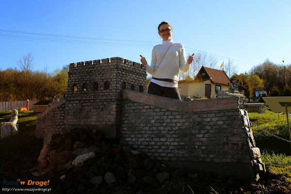 Kaszubski Park Miniatur Strysza Buda - Mur Chiński