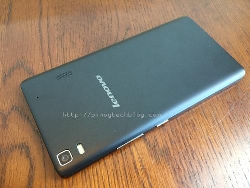 Lenovo A7000 camera back