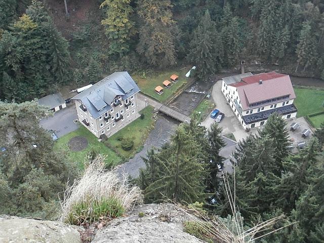 Hotel im Polenztal von Anja geknipst (auf dem Hockstein))