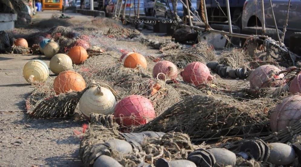 高雄茄萣興達港漁港
