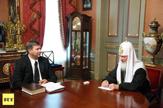 Erros do Photoshop: caso da igreja ortodoxa russa. Foto editada