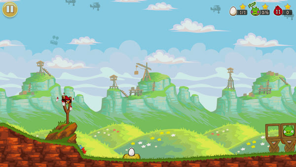 Angry Birds ra mắt phiên bản Red's Mighty Feathers 8
