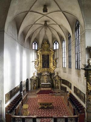 Capilla de todos los Santos del Palacio Real Antiguo de Praga