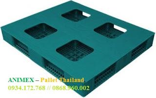 Pallet nhựa 6 thanh chặn Thái Lan