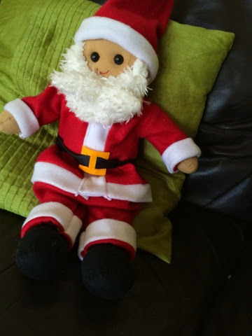 Father Christmas Dolly