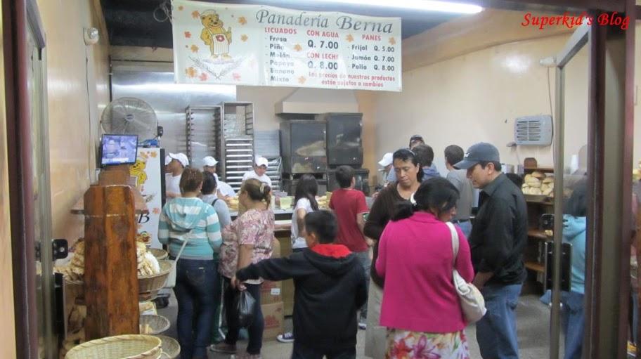 Panadería Berna麵包店