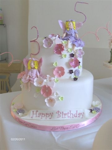 Fairy Birthday Cake For Two