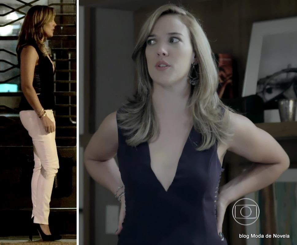 moda da novela Império, look da Amanda dia 26 de novembro