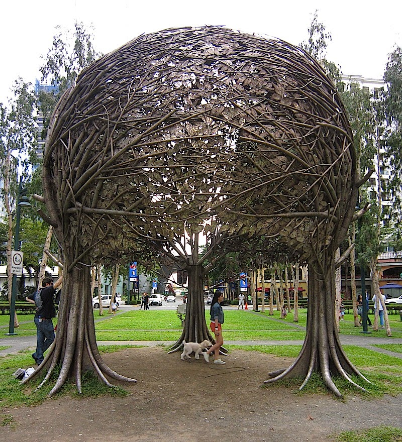 'The Trees' sculpture