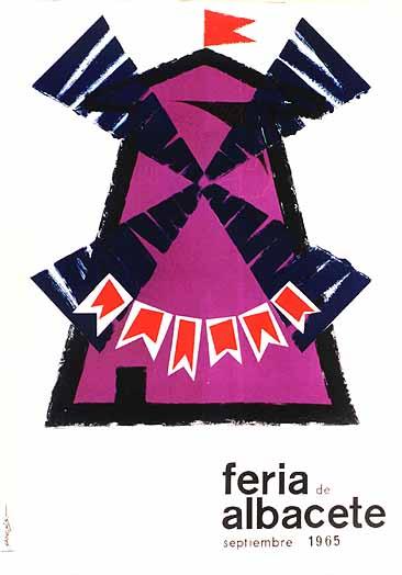 Cartel Feria Albacete 1965