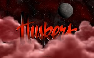 Huskers Above The Clouds Wallpaper