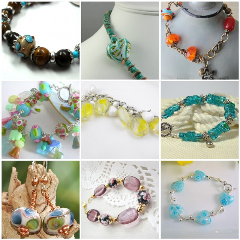 Beautiful Handmade Jewelry with Lampwork Glass Beads