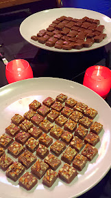 Pike Chocofest 2014, Fleur d Sel, Absinth, and Rose Otto Caramels from JonBoy Caramels