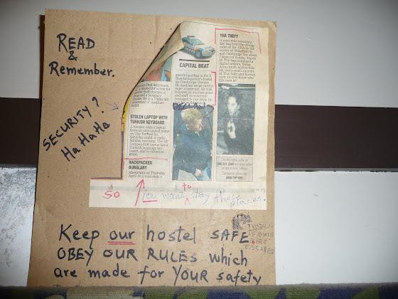 Leer y recordar, como mantener el hostel seguro