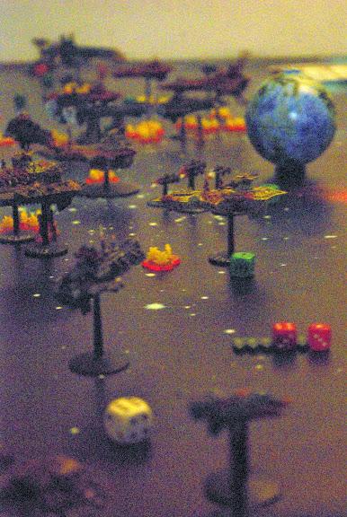 [Navy/SM vs Chaos] Deux flottes du chaos de 1000 points contre deux flottes impériales de 1000 points... _IGP8328