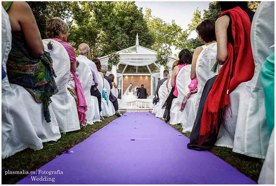 Celebracion de una boda en el Palacio Silvela de Aranjuez