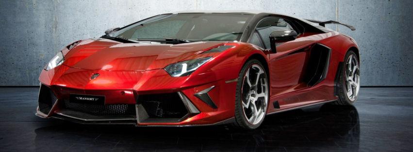 Lamborghini aventador Lp700 facebook cover