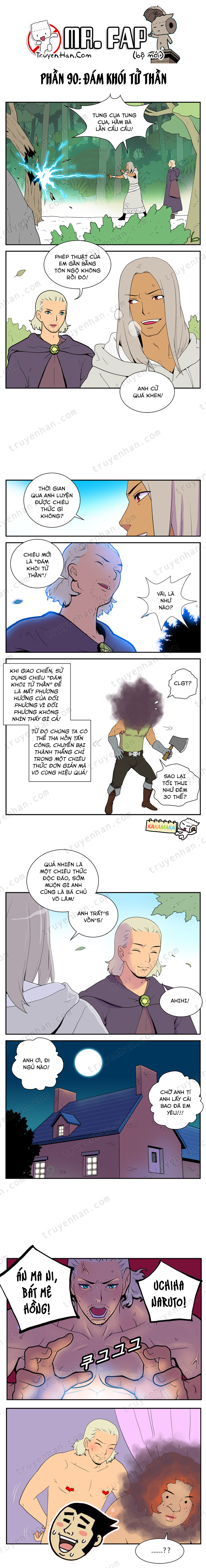 Mr. FAP (bộ mới) phần 90: Đám khói tử thần