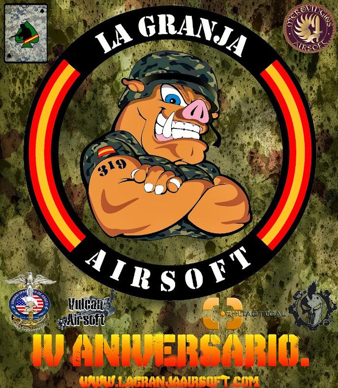 Segunda Partida Extraordinaria IV ANIVERSARIO. Amanecer Rojo. La Granja. Partida abierta 16/02/14 Aniversario+granja4.