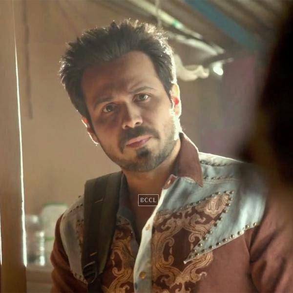Emraan Hashmi in a still from the Bollywood film Raja Natwarlal.