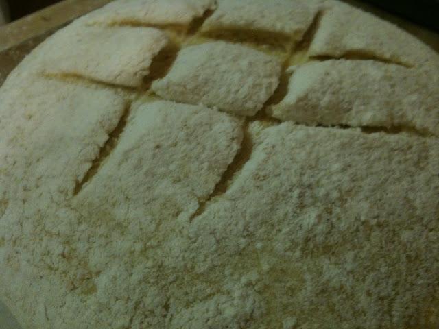 Broa - Before Baking