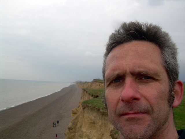 At Weybourne cliffs