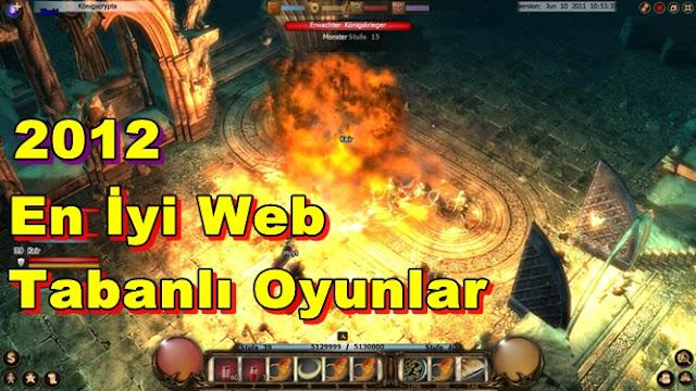 2012 Web Tabanlı Online Oyunlar