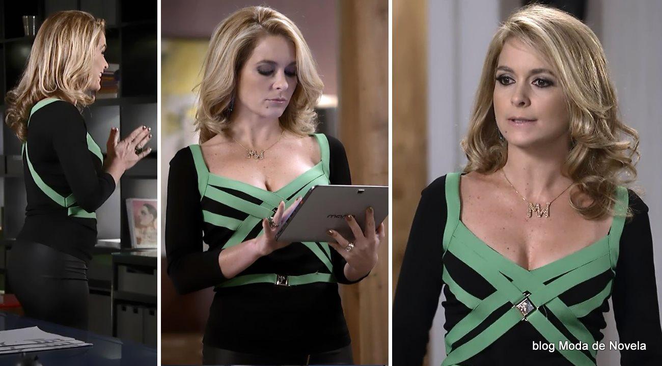 moda da novela Geração Brasil - look da Pamela dia 31 de julho
