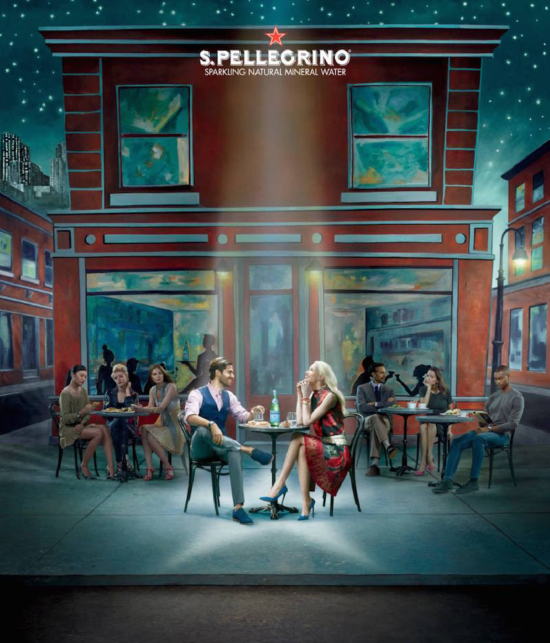 Julia Fullerton-Batten Stunning Photography for San Pellegrino Campaign