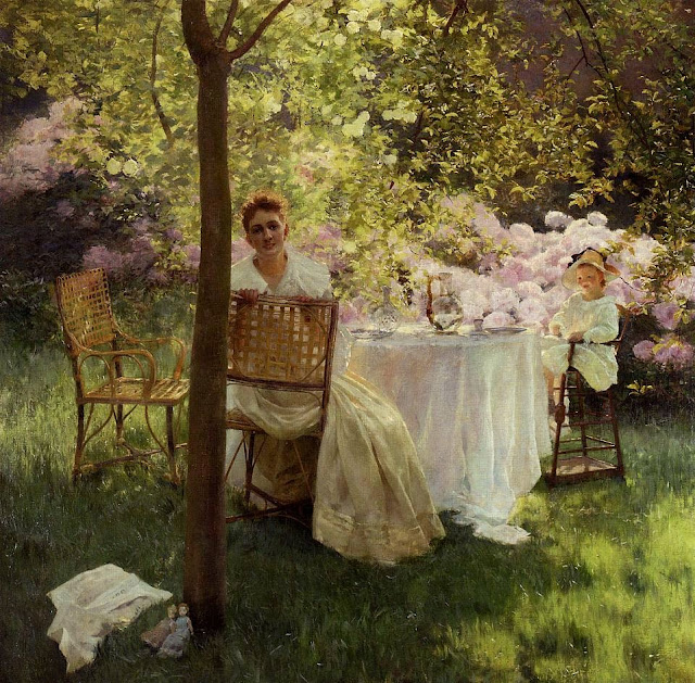 Gaston La Touche - Peonies