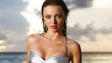 women bikini beach miranda kerr sexy models wet 1920x1080 wallpaper