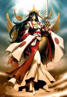 Goddess Amaterasu Image