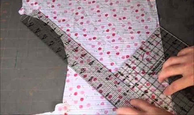 Serger Pepper - Bias Tape - bias tape from irregular shaped fabric