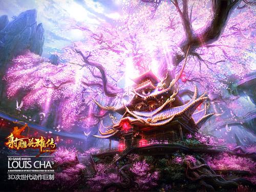 """Xạ Điêu Anh Hùng Truyện """"khoe"""" phong cảnh trong game 5"""