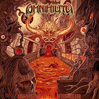 Omnihility - Deathscapes Of The Subconscious recenzja okładka review cover