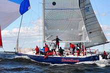 J/133 Siren Song- ultimate sailing cruising racing offshore sailboat