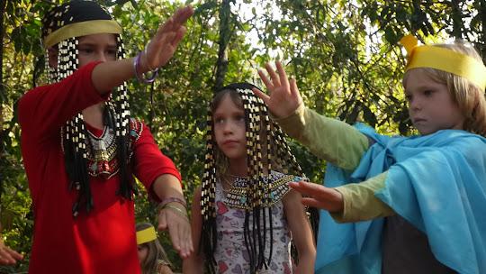 Праздник Урожая в детском саду в Гоа (Арамболь)