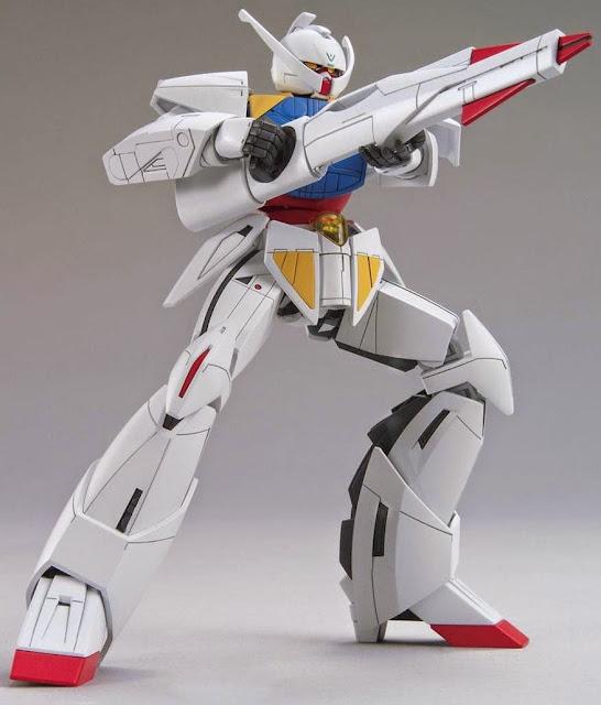 Hình ảnh rất đặc trưng dũng mãnh của mô hình WD-M01 Turn A Gundam HGCC 1/144