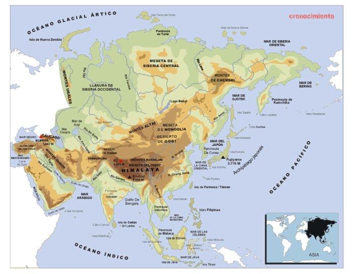 Mapas f sicos culturburgo for Bengala asia