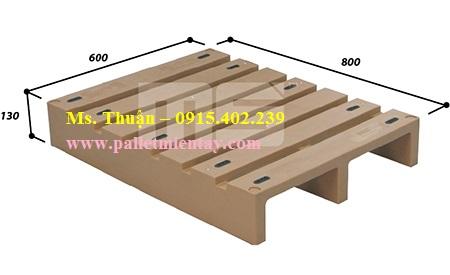 Pallet nhựa Malaysia nhập khẩu EN2-0806