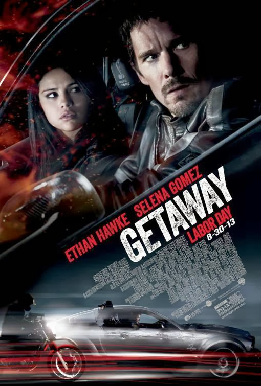 Poster Of English Movie Getaway (2013) Free Download Full New Hollywood Movie Watch Online At Alldownloads4u.Com