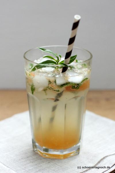 Grapefruit-Verbenen-Holunderspritz -ein alkoholfreier erfrischender Sommer-Drink!