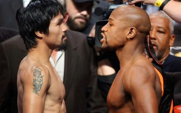 Video Pacquiao-Mayweather September Fight Leaked