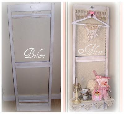 Olivias Romantic Home Shabby Chic Shutter Shelf